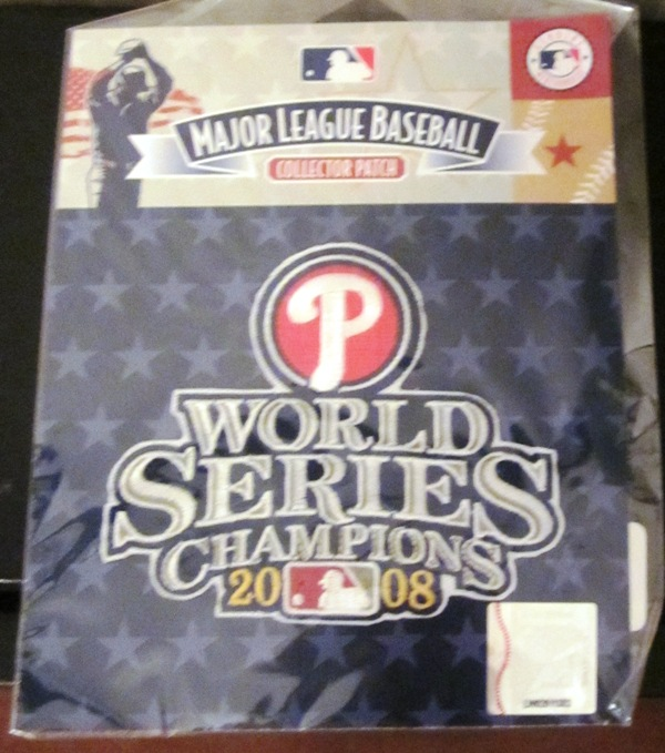 Philadelphia Phillies 2008 World Series Patch